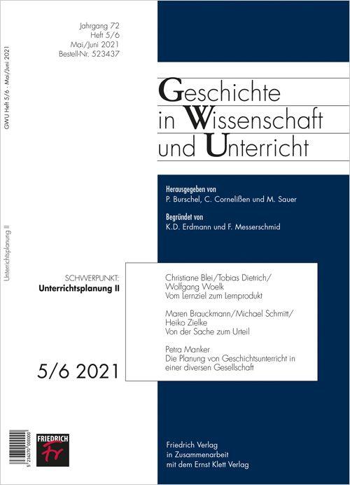 Geschichte in Wissenschaft & Unterricht Studentenabo