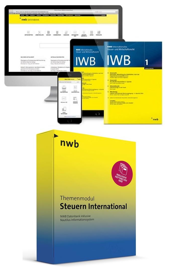 NWB Internationales Steuer- und Wirtschaftsrecht - IWB