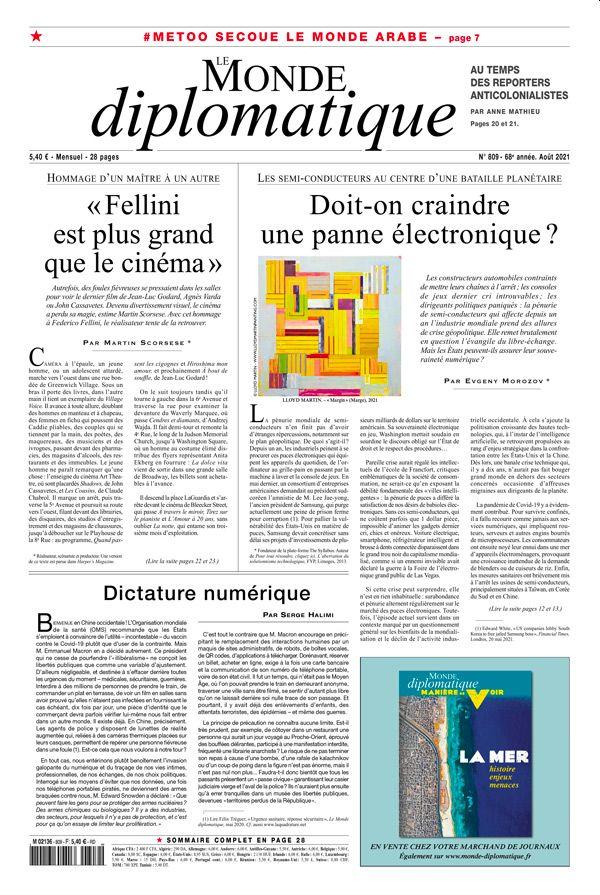 Le Monde Diplomatique (französische Ausgabe) Studentenabo 12 Monate, Zahlung jährlich
