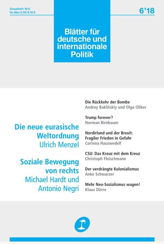 Blätter für deutsche & internationale Politik