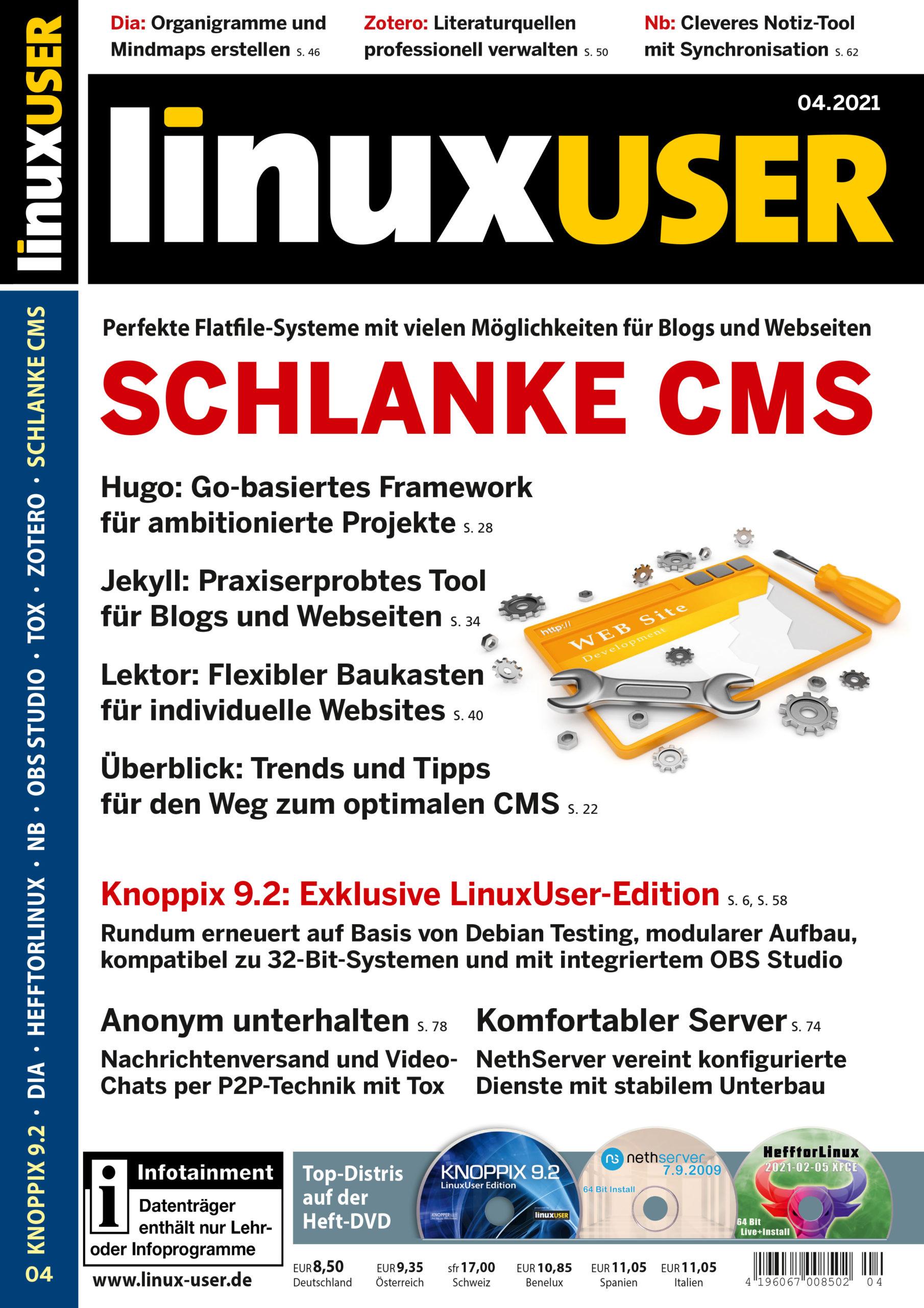 LinuxUser Studentenabo