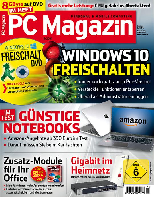 PC Magazin mit DVD Studentenabo