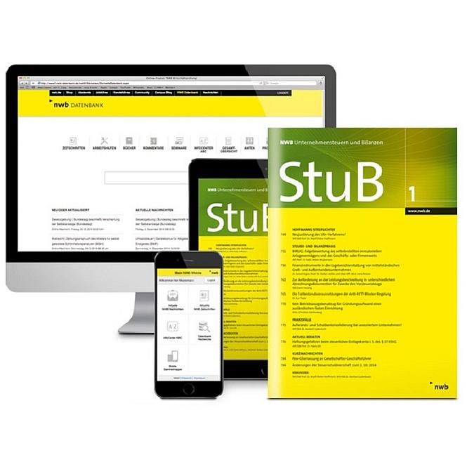 NWB Unternehmensteuern und Bilanzen - StuB