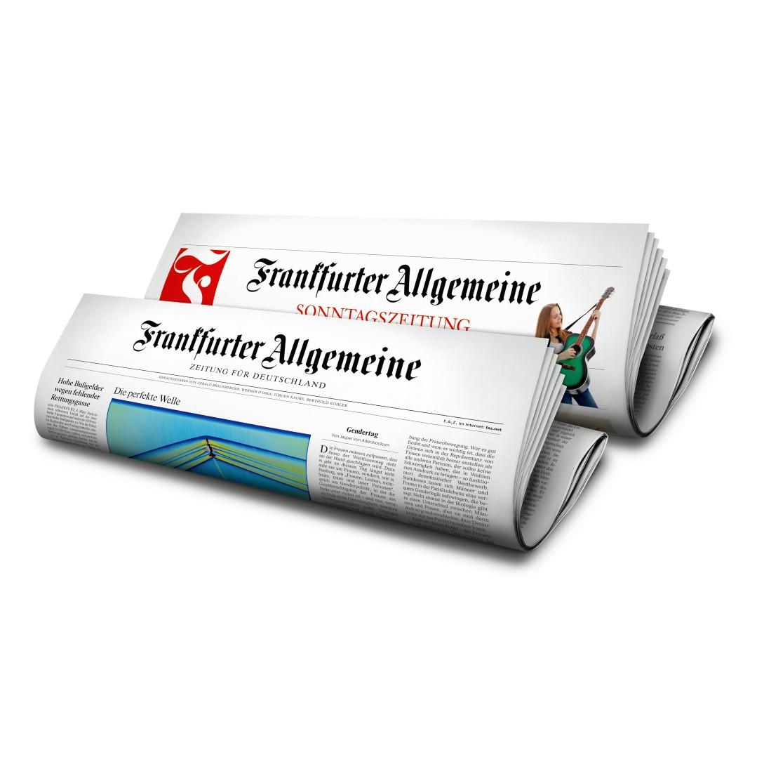 FAZ Frankfurter Allgemeine Zeitung inkl. FAS Sonntagszeitung