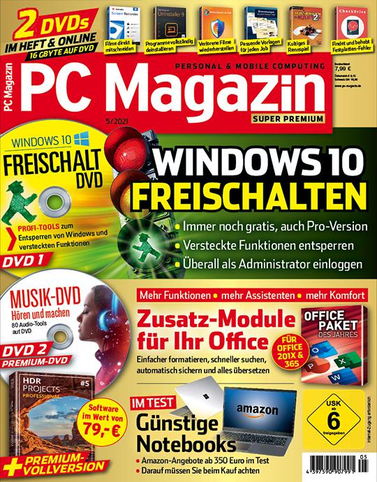 PC Magazin mit 2DVDs Studentenabo
