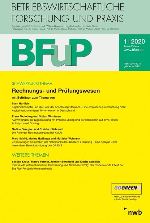 BFuP - Betriebswirtschaftliche Forschung und Praxis