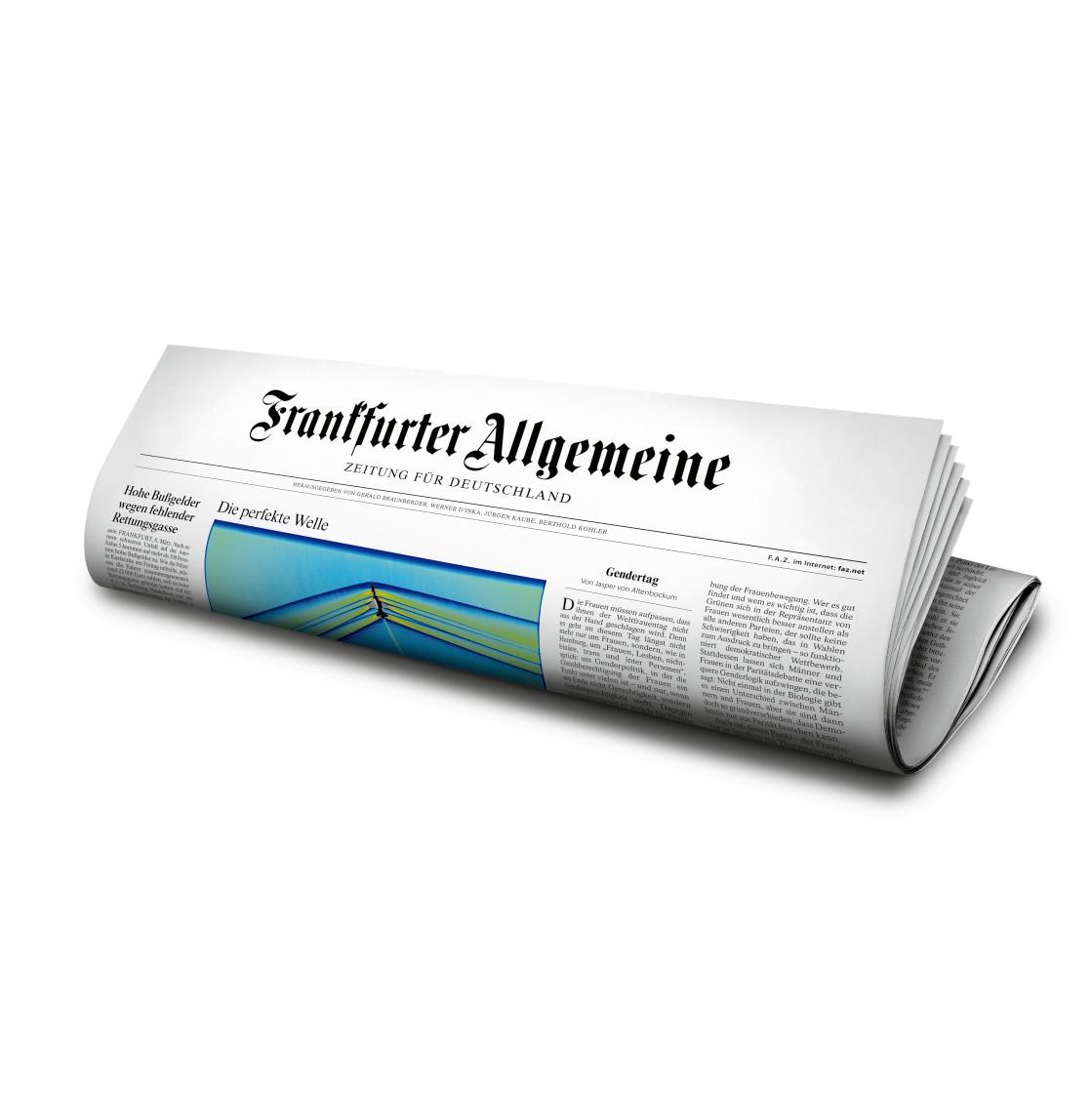 FAZ Frankfurter Allgemeine Zeitung
